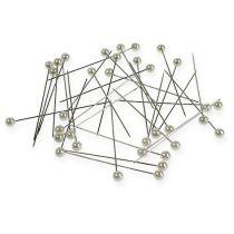 Perlehode nåler hvit Ø4mm 40mm