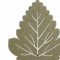 Plantepluggblad 8-10cm naturlig / grønn / lilla 24stk