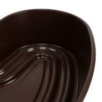 "Plantehjerte ""Amora"" brun 35 x 35cm, 1p"