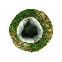 Planteskål mosseskål Ø18cm 2stk