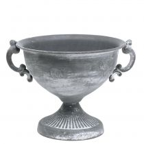 Kopp grå Ø20cm H17,5cm