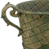 Plantekopp, dekorativ beger, amfora for planting Ø18,5cm H31,5cm