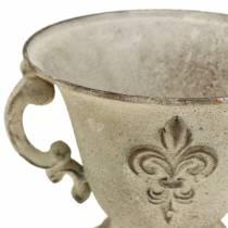Koppskål vintage krem Ø15cm H13,5cm