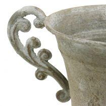 Antikk kopp grå Ø14,5cm H21cm