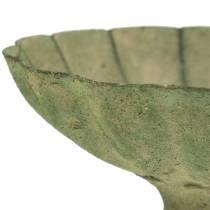 Koppskål antikk grønn Ø13cm H11,5cm