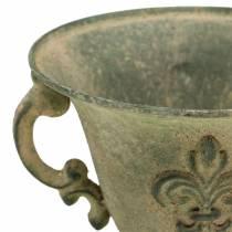 Koppskål vintage grønn Ø15cm H14cm