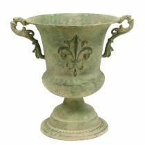 Koppskål antikk grønn Ø20cm H24cm