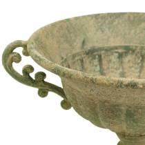 Koppskål antikk grønn Ø26cm H20,5cm