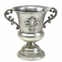 Koppskål sølvantikk Ø20cm H24cm