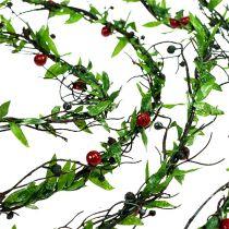 Vine krans med bær 3m