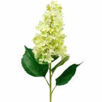 Kunstig panicle hortensia, hortensia grønn, høy kvalitet silkeblomst 98cm