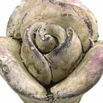 Betong rosa, fiolett Ø7,7 H5,5cm 3stk
