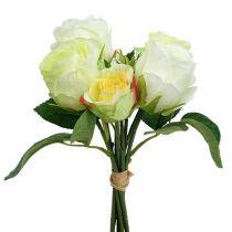 Roseklynge hvitgrønn Ø15cm L25cm