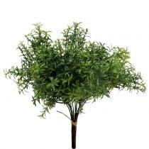 Kunstig rosmarin gren grønn 35cm 3stk
