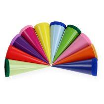 Mini-sukkerposer flerfarget 12cm 10stk