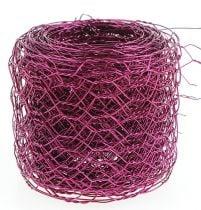 Sekskantet flettet rosa 50mm 5m