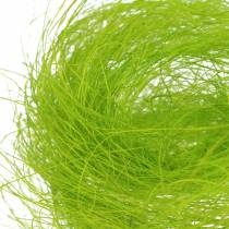 Sisal vårgrønt dekorativt gress 500g