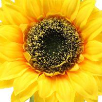 Kunstig solsikke til dekorasjon Ø15cm