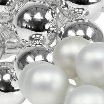 Speilbær 25mm sølvblanding 140p