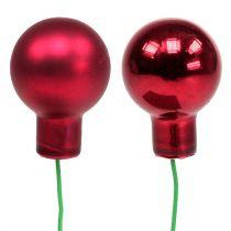 Speilbær rød blanding Ø25mm 140p