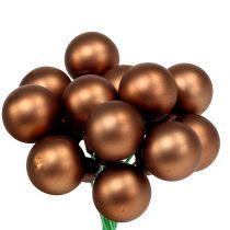 Speilbær Ø1,5cm brun-gull 140p