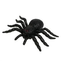 Edderkopp, flaggermus svart 10cm, 14cm 3stk
