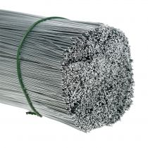 Pluggtråd, sølvtråd galvanisert Ø0.4mm L180mm 1kg