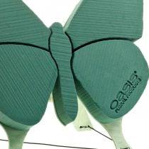 Blomster skum figur sommerfugl med stativ 56cm x 40cm