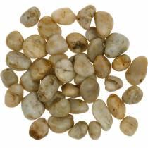 River pebbles naturlig krem 2-4cm 1kg