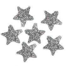 Stjerneglitter 1,5 cm for dryssende sølv 144stk