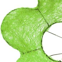 Sisal bukett mansjett grønn Ø15cm 10stk