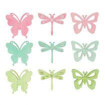 Giveaways sommerfugler og øyenstikkere 4cm 72stk