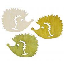 Streudeko pinnsvin laget av tre forskjellige farger 4cm 72stk