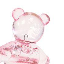 Spredt bjørn rosa 3,5 cm 60p