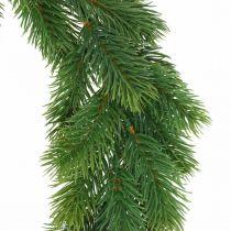 Dekorativ kransgranskrans kunstig grønn Ø45cm