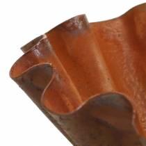 Dekorativ bolle, bakepanne, rustfritt stålgitter Ø12,5cm H4cm