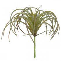 Tillandsia kunstig å feste Grønn-lilla kunstig plante 13cm