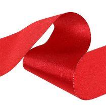Bordbånd rød 10cm 15m