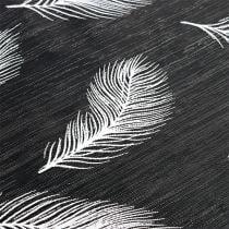 Bordløper med fjærmønster 30cm x 500cm