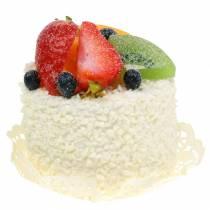 Dekorative tartlets med frukt jordbærmatreplika 7cm