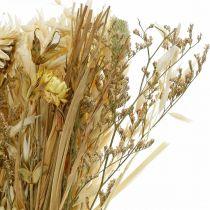 Tørket blomsterbukett naturlig 45cm