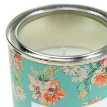 Vanilje duftlys i blomsterkasse Ø6,5cm