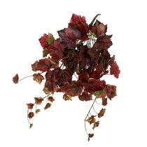 Vine leaves hanger green, bordeaux 67cm
