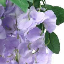 Garland blåregn lilla 175cm 2stk