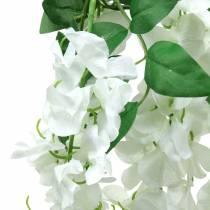 Garland blåregn hvit 175cm 2stk