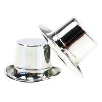 Sylinder mini sølv 12stk