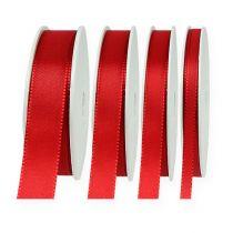 Dekorasjonsbånd rød 50m