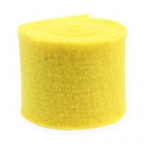 Filtbånd gul 15cm 5m