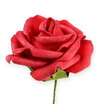 Skum-Rose Ø6cm rød 27stk