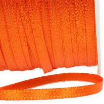 Gave- og dekorasjonsbånd 3mm 50m oransje
